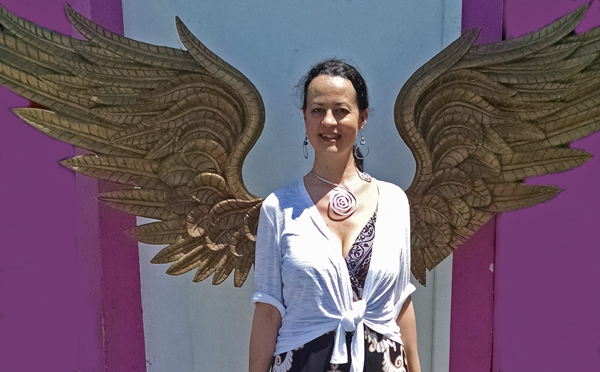Cindia with Angel wings